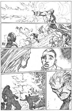 Inhuman #3 page 11 (Pencil)