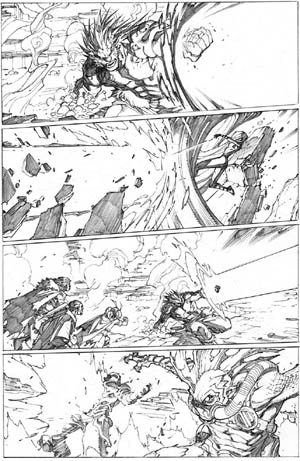 Inhuman #3 page 16 (Pencil)