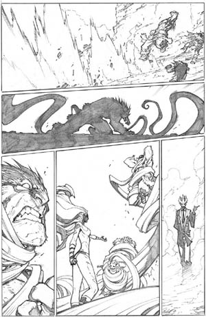 Inhuman #3 page 18 (Pencil)