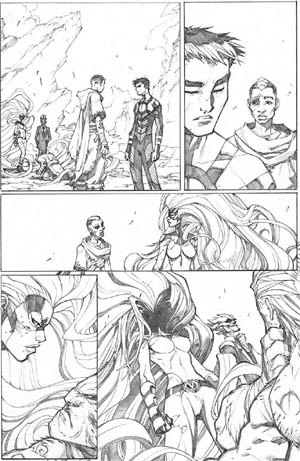 Inhuman #3 page 20 (Pencil)