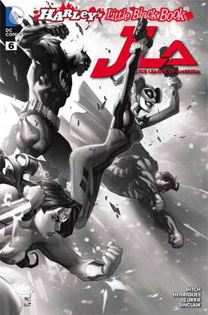 Justice League of America #6 variant cover (JLA) (CoverB)