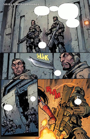 Savage Wolverine issue #6 page 1 (Color)