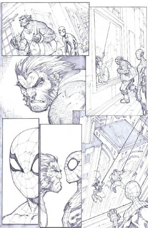 Savage Wolverine issue #6 page 12 (Pencil)