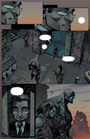 Savage Wolverine issue #6 page 14 (Color)