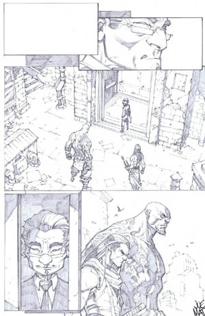Savage Wolverine issue #6 page 14 (Pencil)