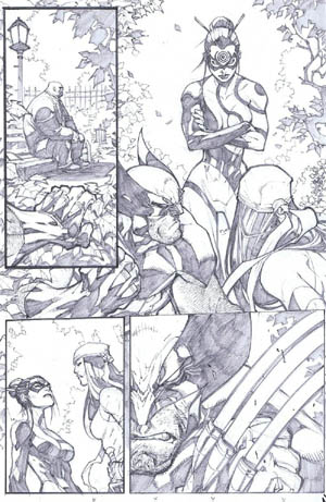 Savage Wolverine issue #6 page 16 (Pencil)