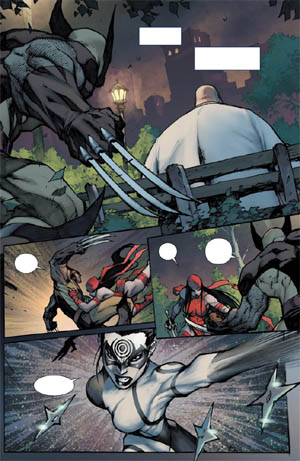 Savage Wolverine issue #6 page 17 (Color)