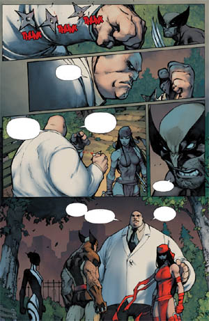 Savage Wolverine issue #6 page 18 (Color)