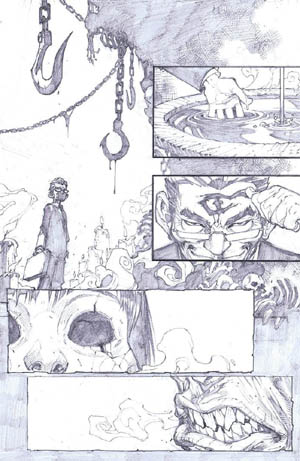 Savage Wolverine issue #6 page 19 (Pencil)
