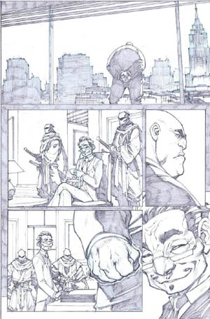 Savage Wolverine issue #6 page 4 (Pencil)