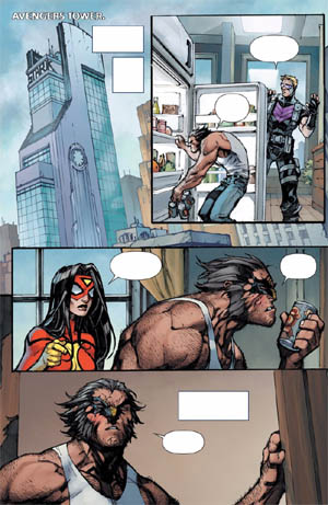 Savage Wolverine issue #6 page 8 (Color)