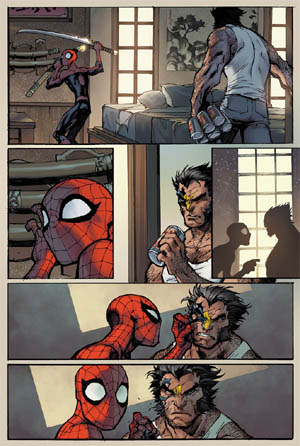 Savage Wolverine issue #6 page 9 (Color)