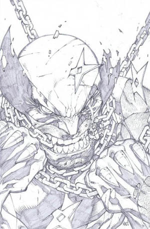 Savage Wolverine issue #7 cover (Pencil)