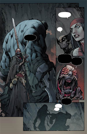 Savage Wolverine issue #7 page 10 (Color)