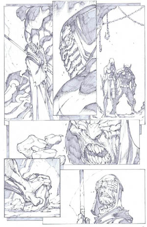 Savage Wolverine issue #7 page 11 (Pencil)