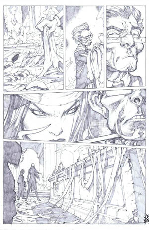 Savage Wolverine issue #7 page 16 (Pencil)