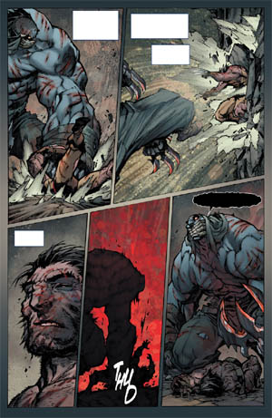 Savage Wolverine issue #7 page 17 (Color)