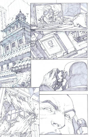 Savage Wolverine issue #7 page 19 (Pencil)