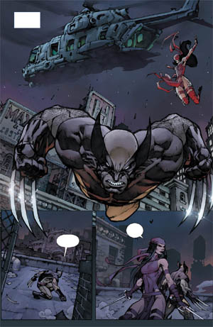 Savage Wolverine issue #7 page 2 (Color)