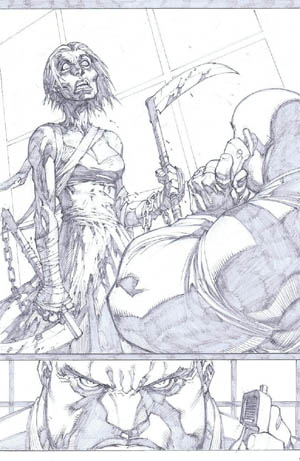 Savage Wolverine issue #7 page 20 (Pencil)