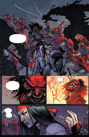 Savage Wolverine issue #7 page 3 (Color)