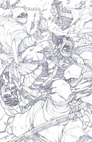 Savage Wolverine issue #7 page 5 (Pencil)