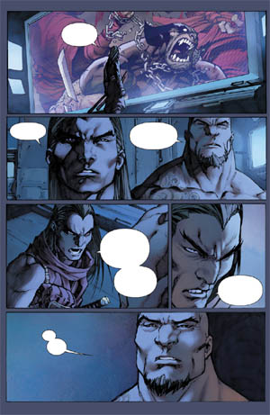 Savage Wolverine issue #7 page 6 (Color)
