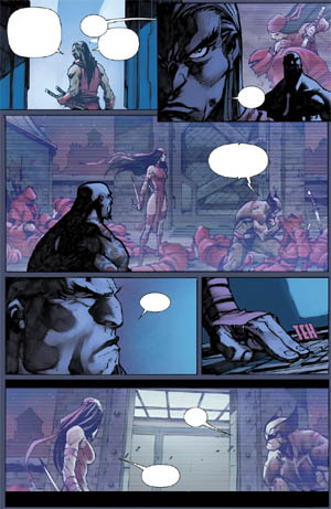 Savage Wolverine issue #7 page 7 (Color)