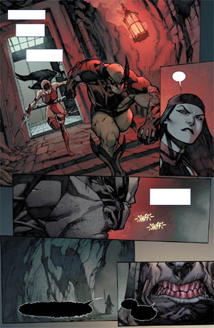 Savage Wolverine issue #7 page 9 (Color)