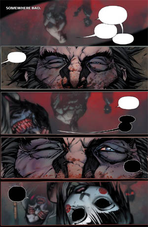 Savage Wolverine issue #8 page 1 (Color)