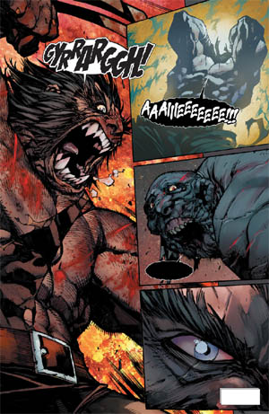 Savage Wolverine issue #8 page 10 (Color)