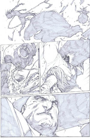 Savage Wolverine issue #8 page 11 (Pencil)