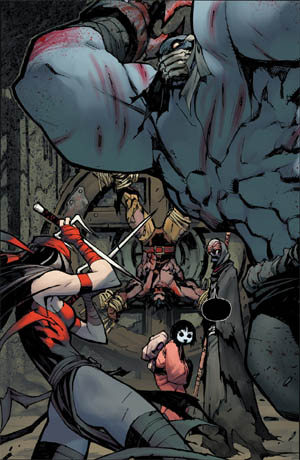 Savage Wolverine issue #8 page 2 (Color)