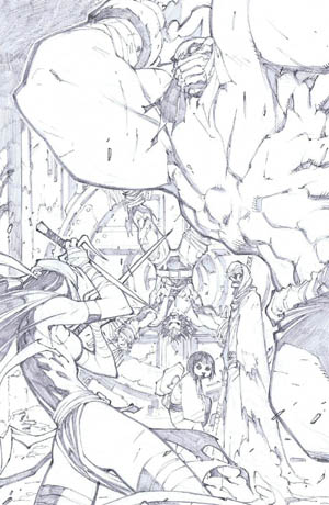 Savage Wolverine issue #8 page 2 (Pencil)