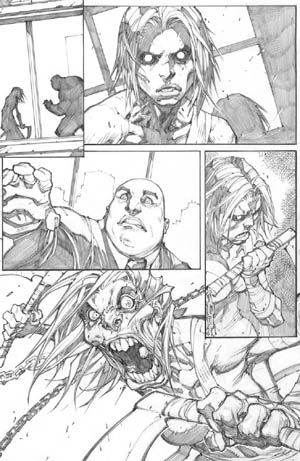 Savage Wolverine issue #8 page 3 (Pencil)
