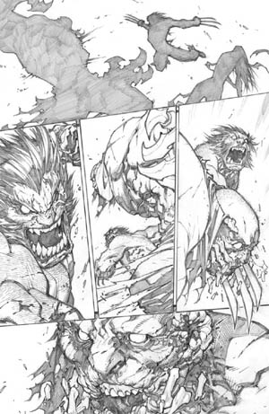 Savage Wolverine issue #8 page 9 (Pencil)