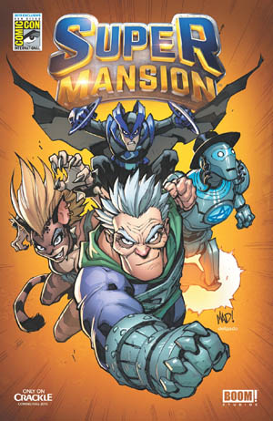 Super Mansion Comic #1 SDCC 2015 (Color)