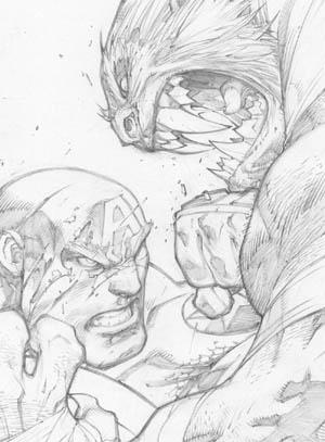 Ultimates 3 #2 cover (Pencil)
