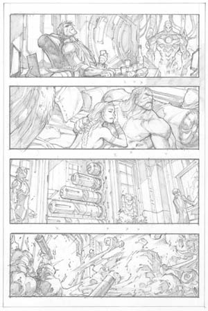 Ultimates 3 #2 page 10 (Pencil)