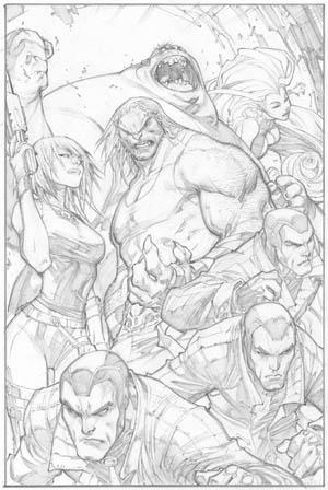 Ultimates 3 #2 page 11 (Pencil)