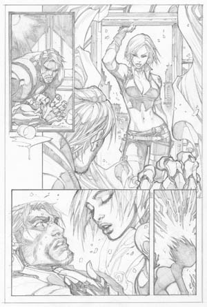 Ultimates 3 #2 page 12 (Pencil)