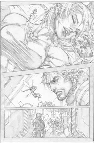 Ultimates 3 #2 page 13 (Pencil)