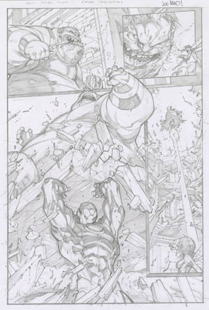 Ultimates 3 #2 page 16 (Pencil)