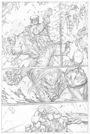 Ultimates 3 #2 page 17 (Pencil)