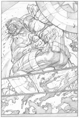 Ultimates 3 #2 page 19 (Pencil)