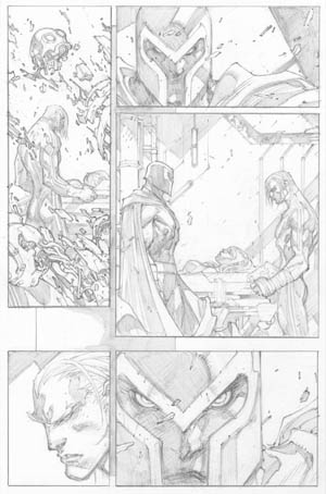 Ultimates 3 #2 page 20 (Pencil)
