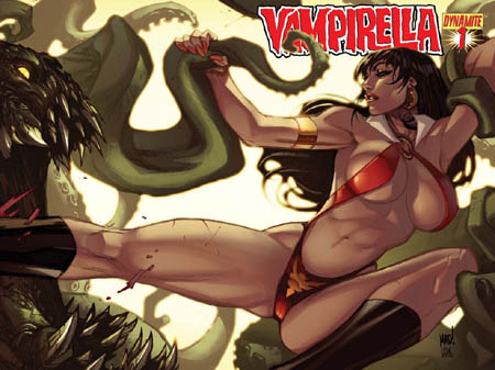 Vampirella #1 2010 series covers (Color)