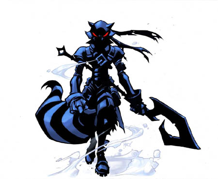 Dark Sly Cooper concept art (Color)