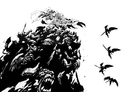 Darksiders Genesis E3 Demo title screen (Ink)