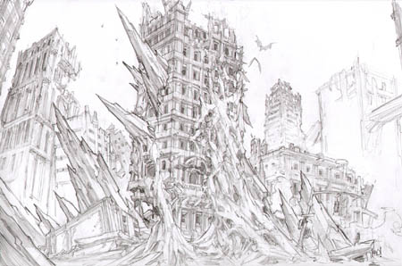 Darksiders earth concept art